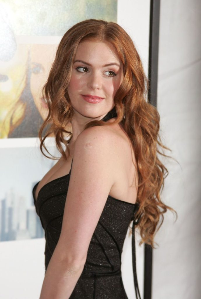 Isla Fisher Backless Pictures