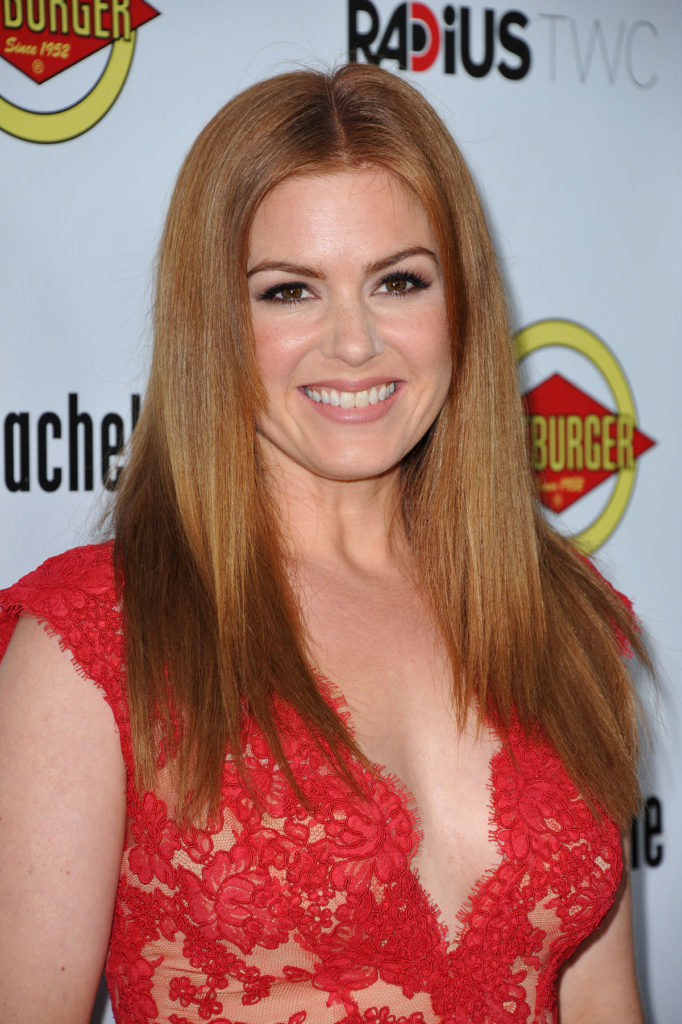 Isla Fisher Cute Smile Wallpapers