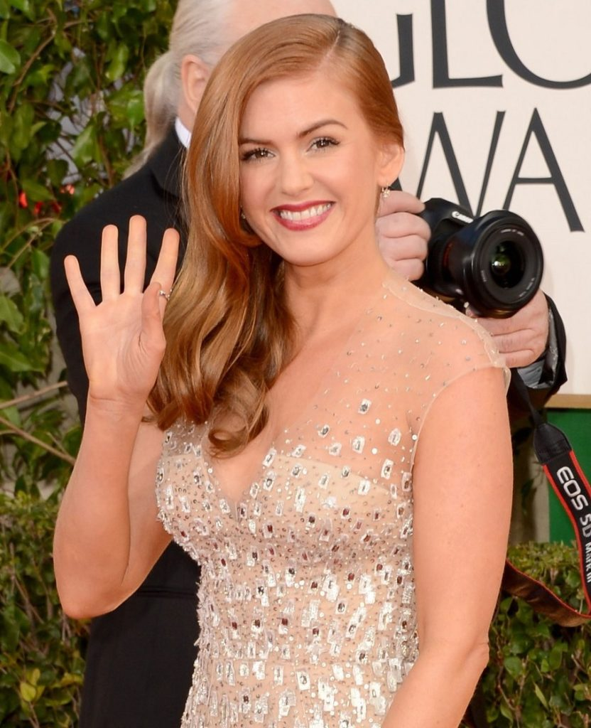 Isla Fisher Long Hair Wallpapers