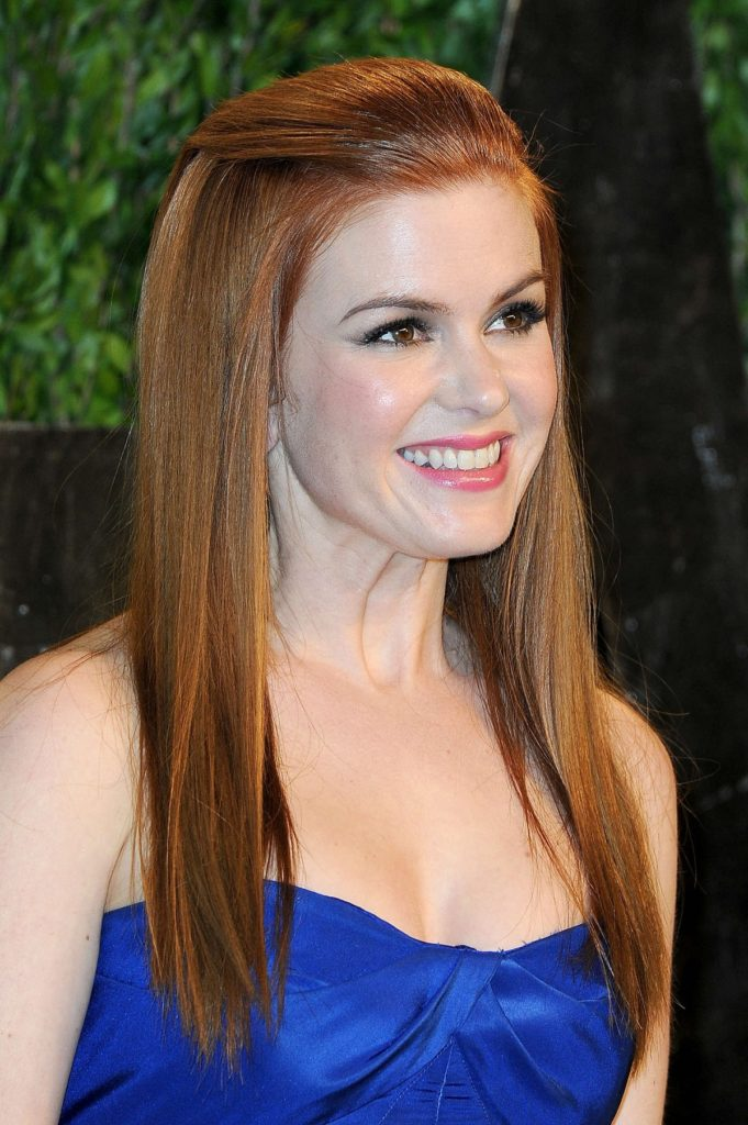 Isla Fisher Makeup Images