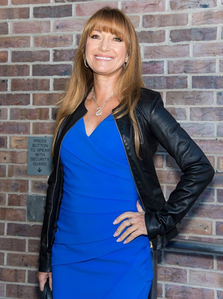 Jane Seymour In Blue Clothes Pics