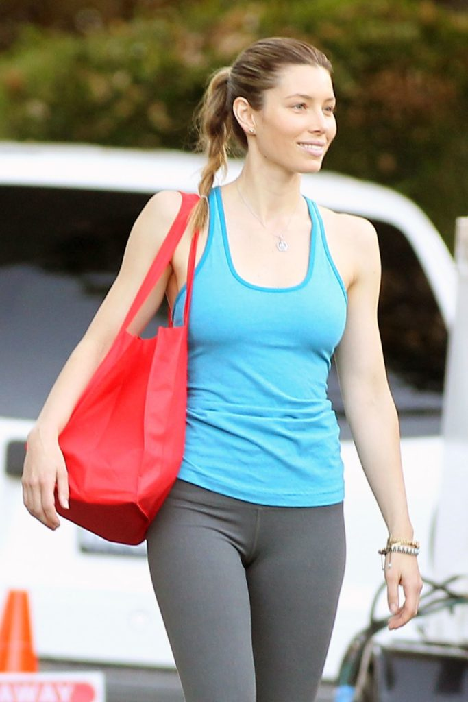 Jessica Biel Workout Images