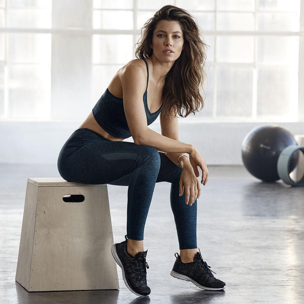 Jessica Biel Workout Wallpapers