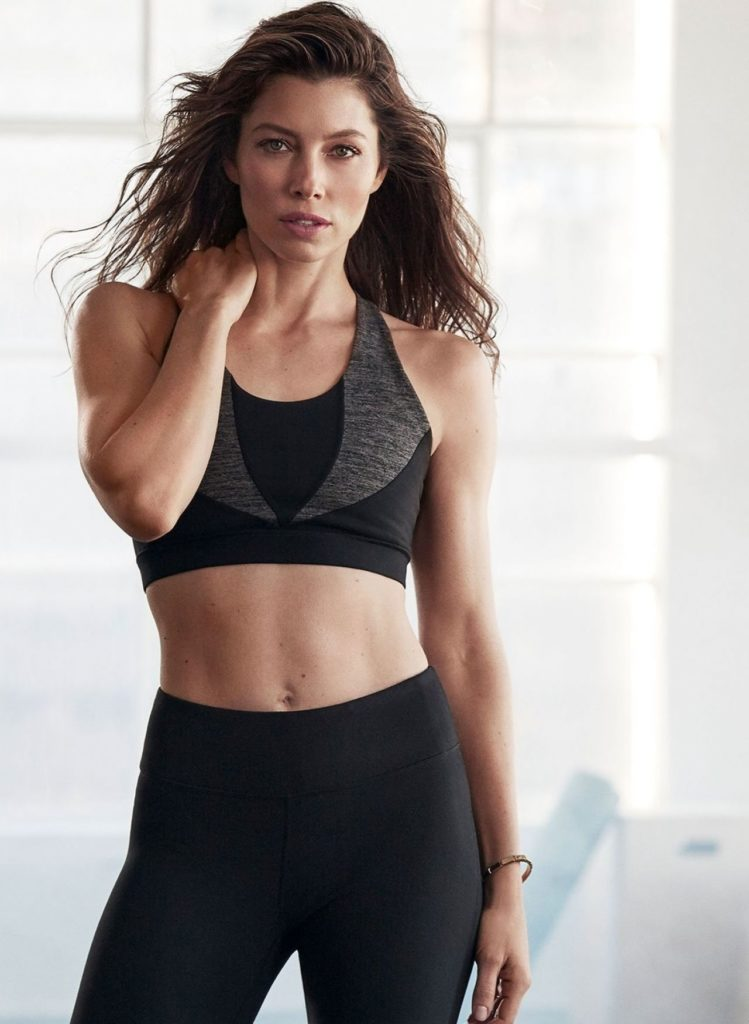 Jessica Biel Yoga Pants Wallpapers