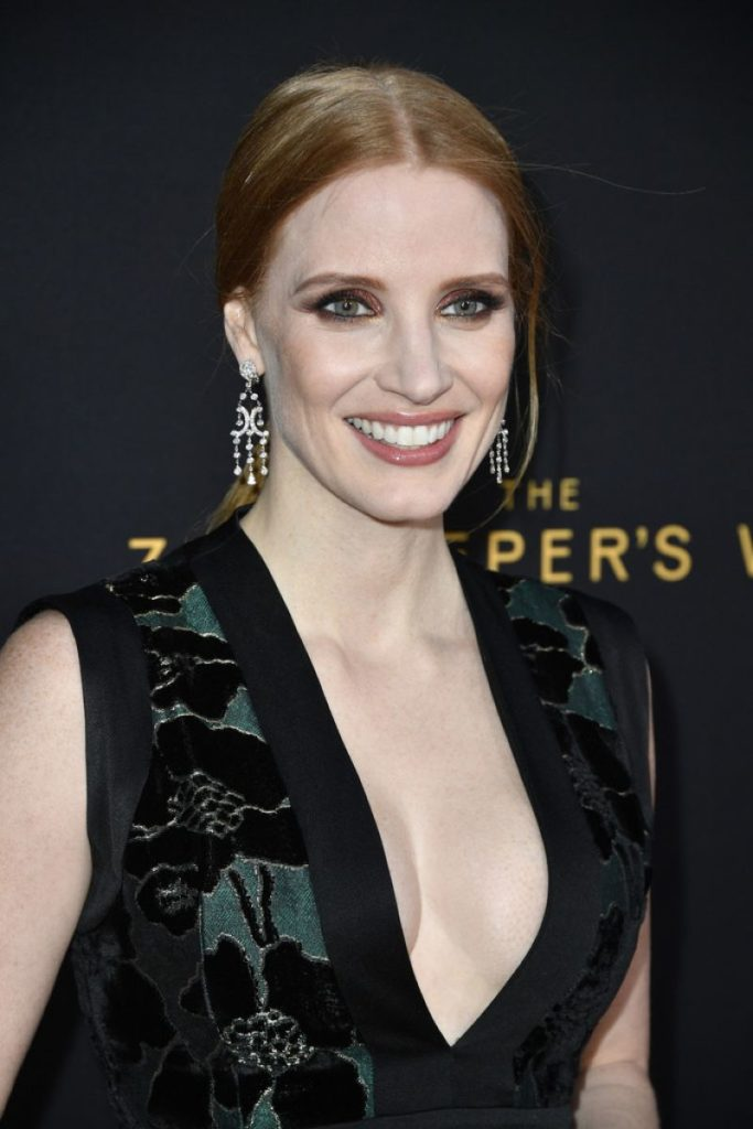 Jessica Chastain Boobs Pics