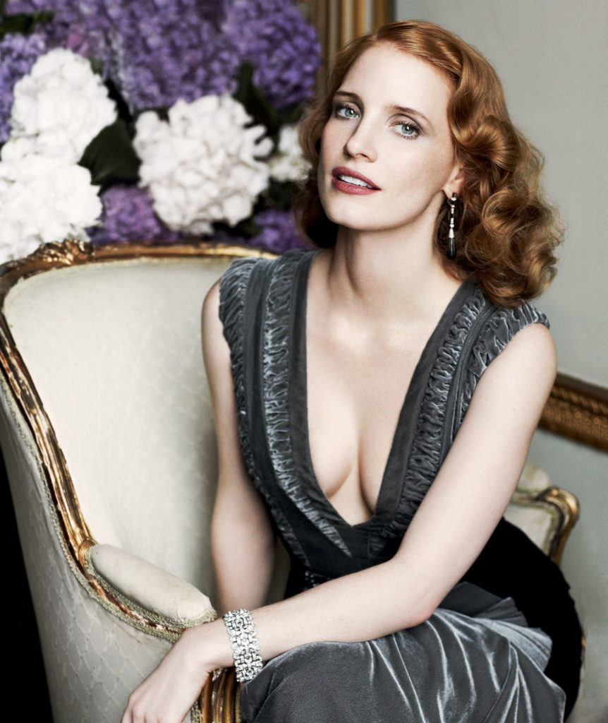 Jessica Chastain Lingerie Pics
