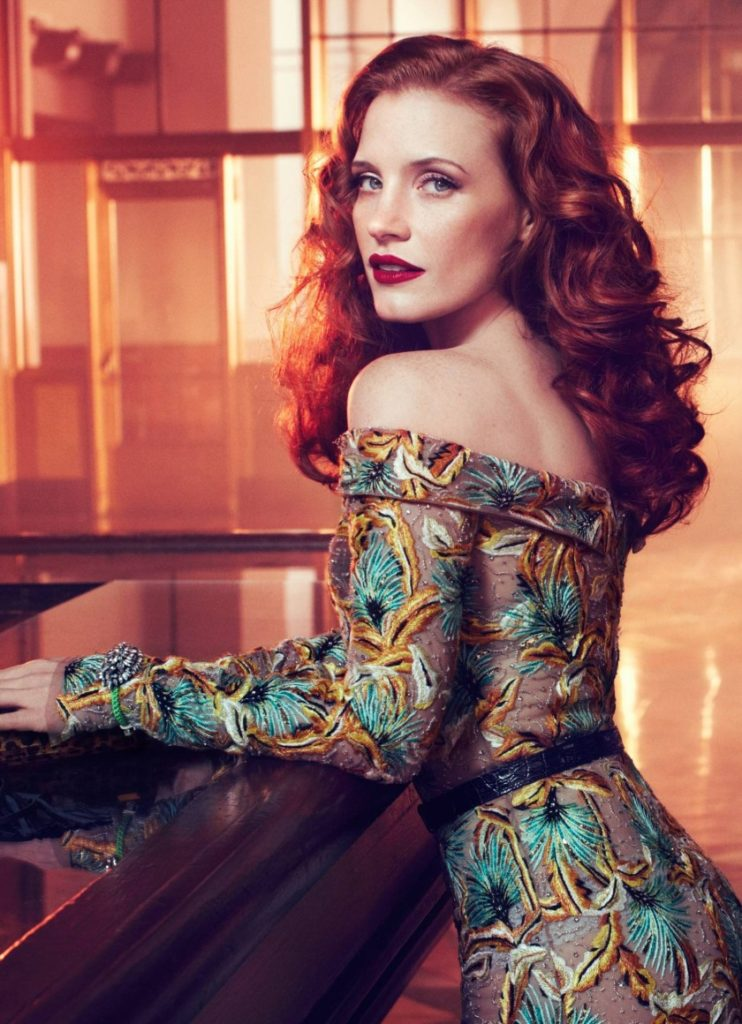 Jessica Chastain Makeup Images
