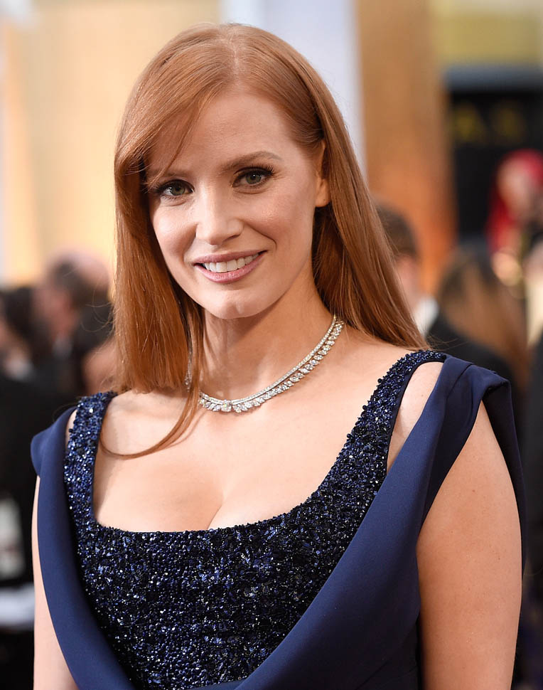 Jessica Chastain Oops Moment Pics