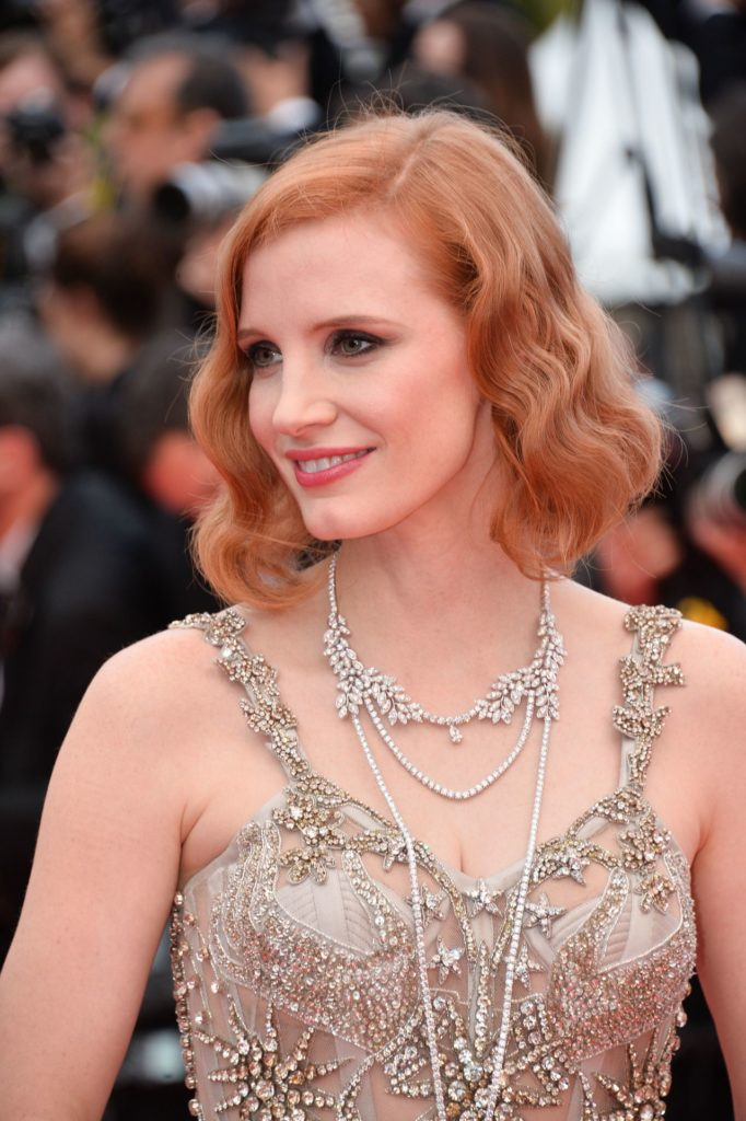 Jessica Chastain Sexy Eyes Pics