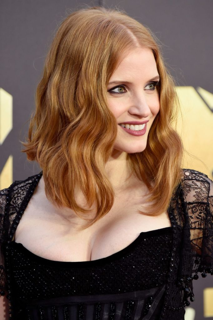 Jessica Chastain Short Hair Pics