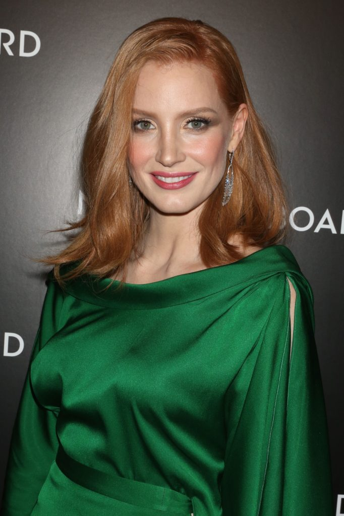 Jessica Chastain Smile Face Photos