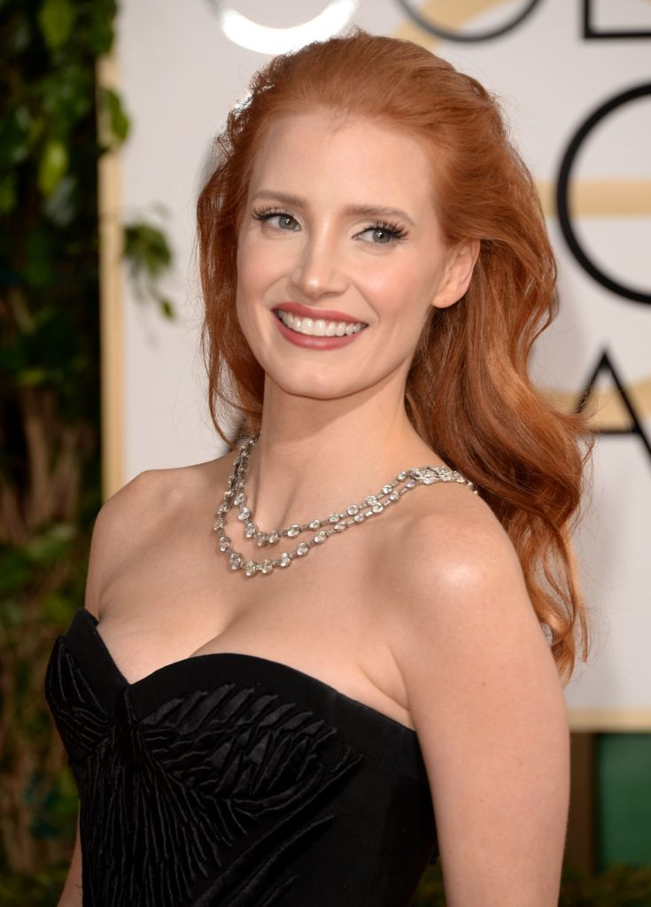 Jessica Chastain Topless Wallpapers