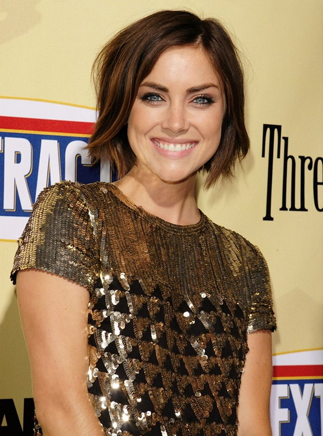 Jessica Stroup Smiling Pics