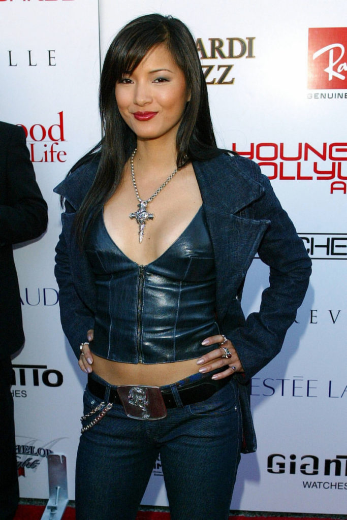 Kelly-Hu-Leggings-Images