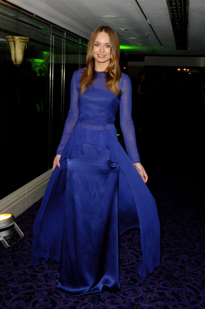 Laura-Haddock-In-Blue-Gown-Pics