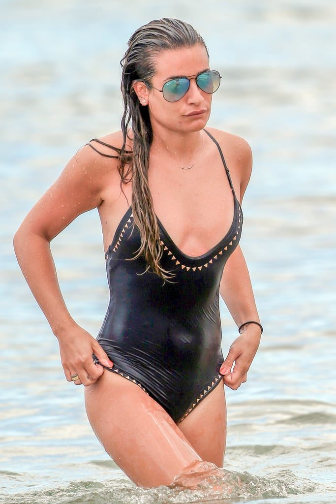 Lea-Michele-Bikini-Beach-Pics