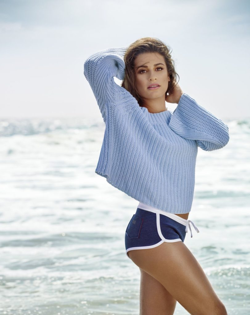 Lea-Michele-Panty-Beach-Pics