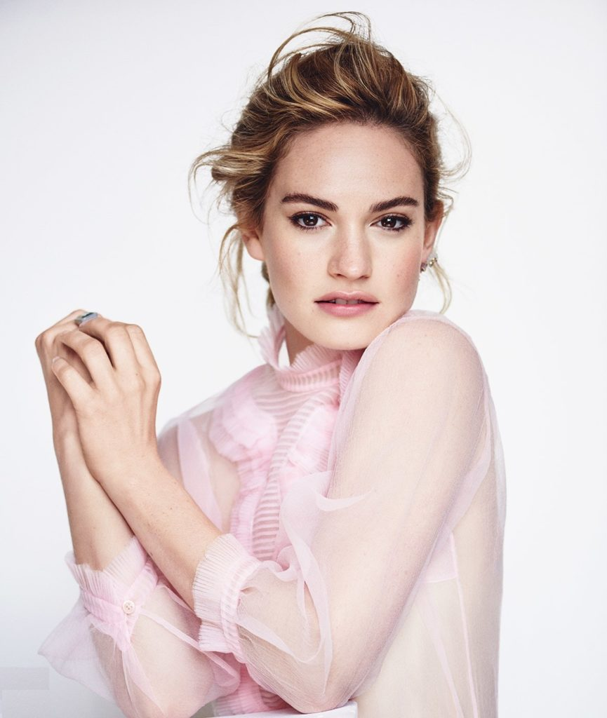 Lily-James-Hair-Style-Images
