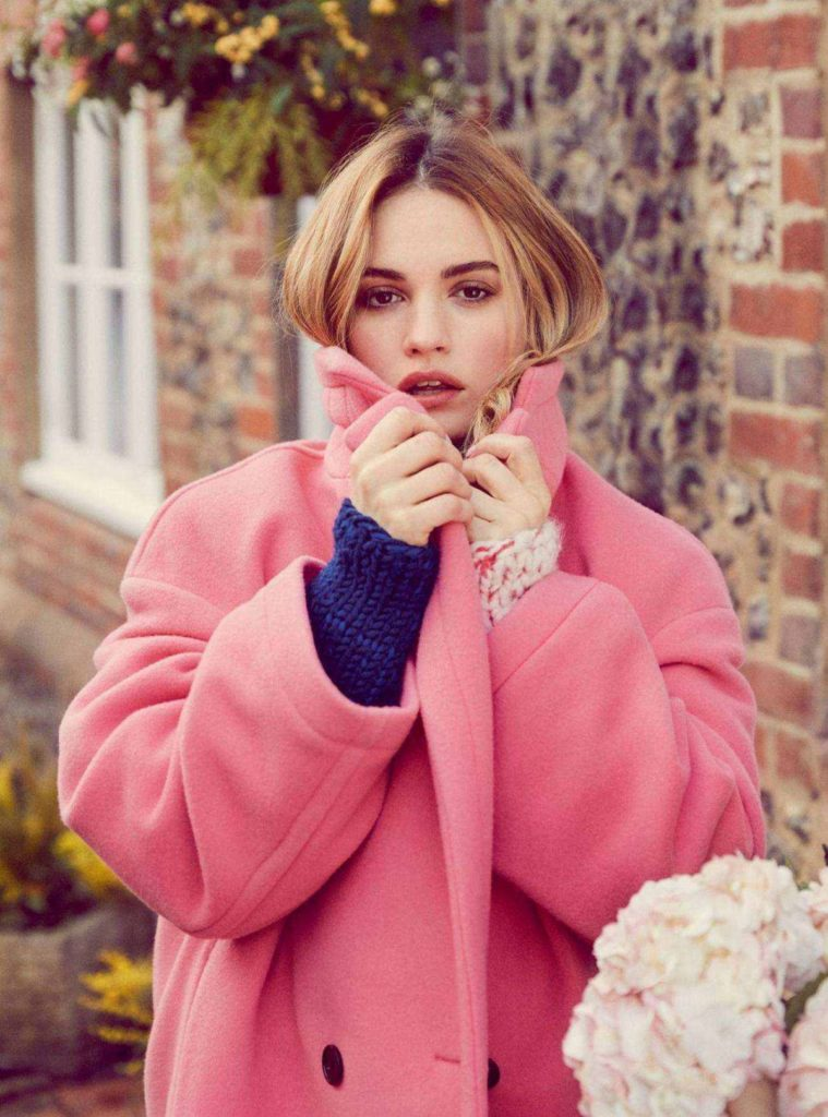 Lily-James-Hair-Style-Pics