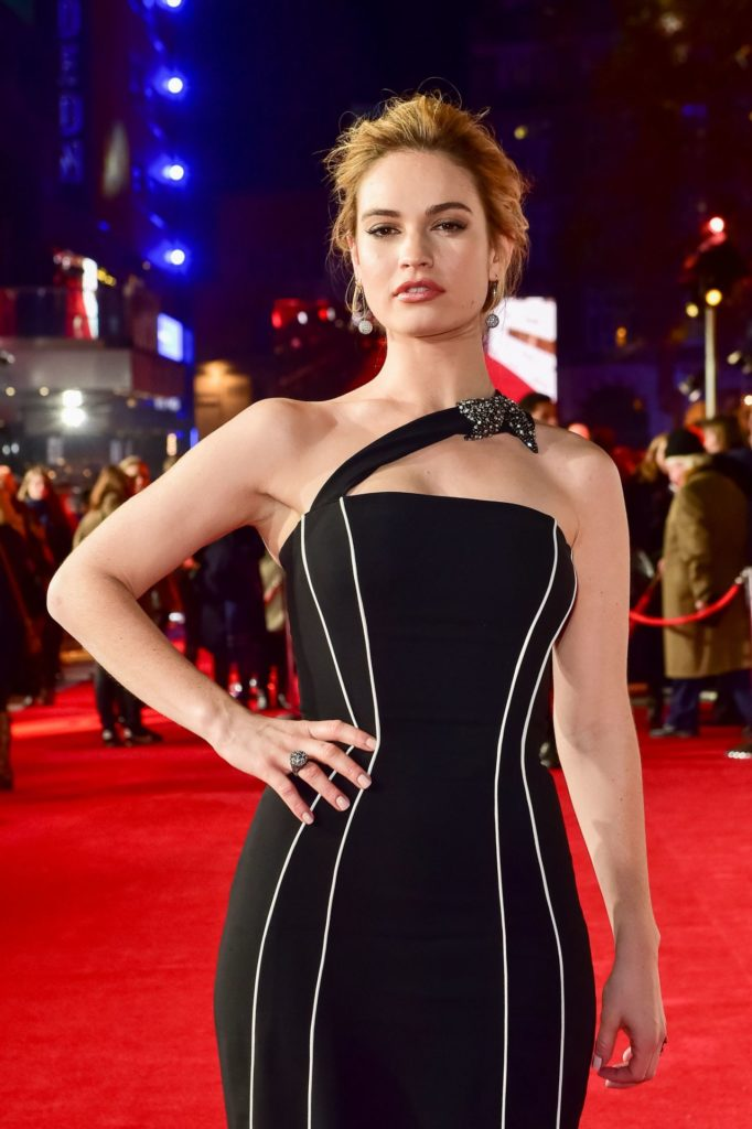 Lily-James-Hot-Pictures