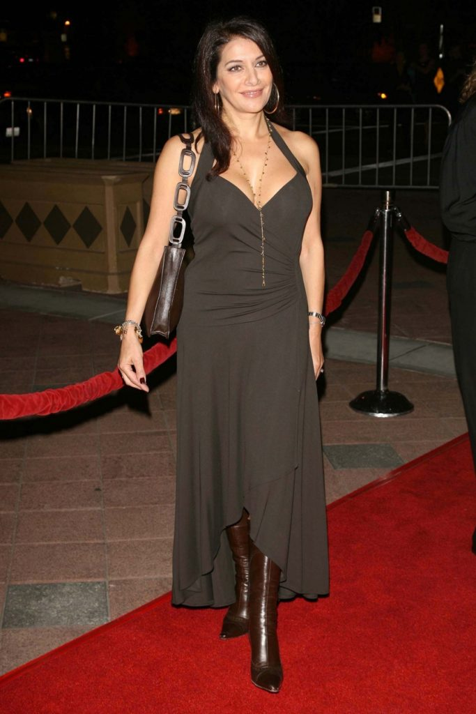 Marina Sirtis In Gown Wallpapers