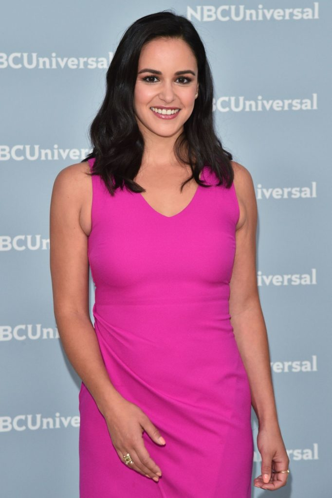 Melissa Fumero In Pink Dress Pictures