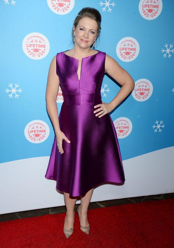 Melissa Joan Hart In Purple Dress Photos