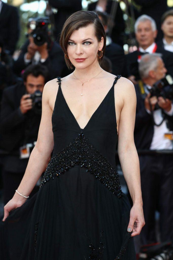 Milla Jovovich At Event Pics