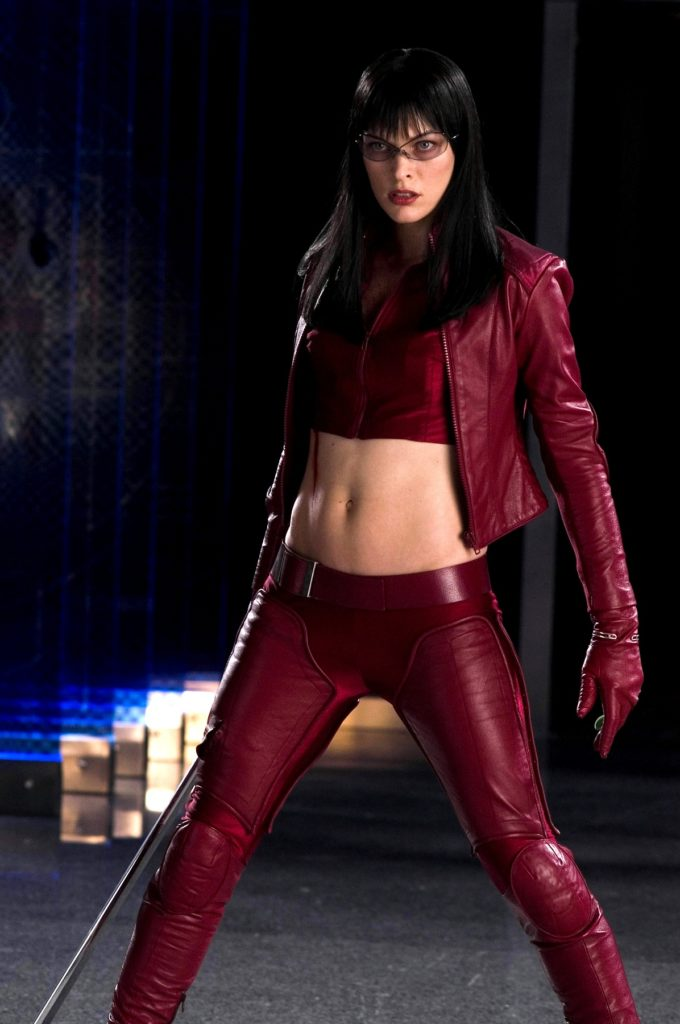 Milla Jovovich Navel Images
