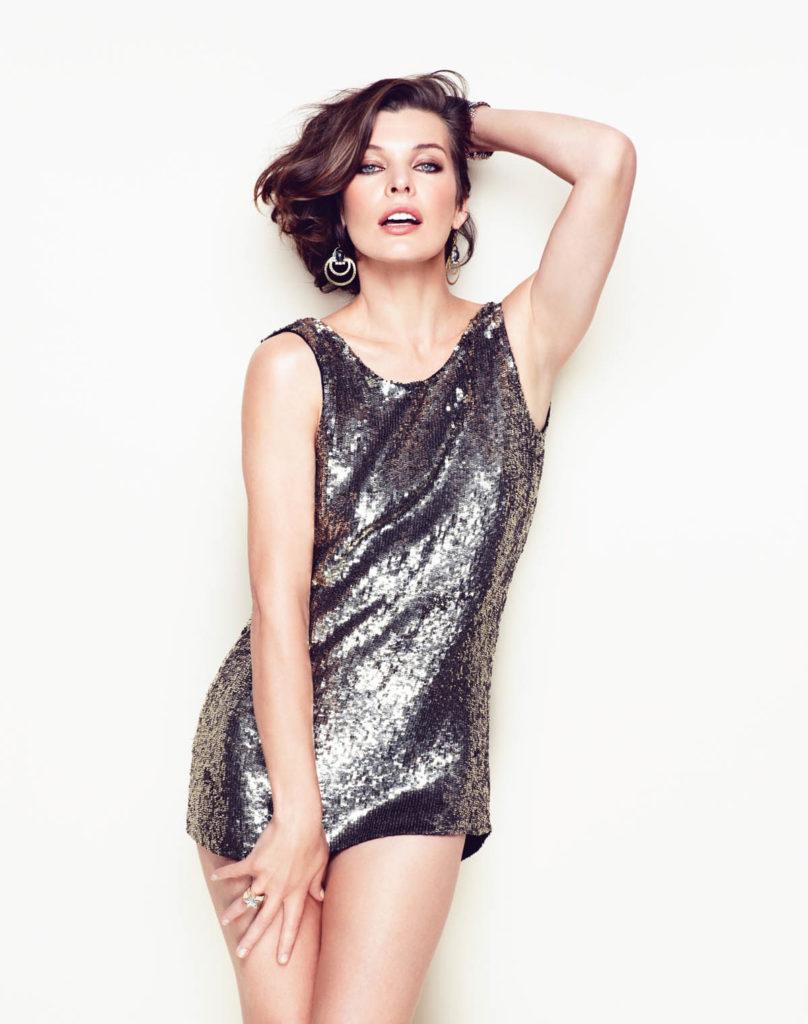 Milla Jovovich Shorts Pictures