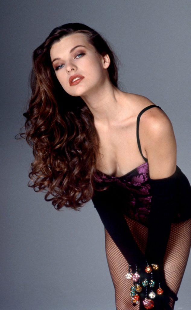 Milla Jovovich Undergarment Pics