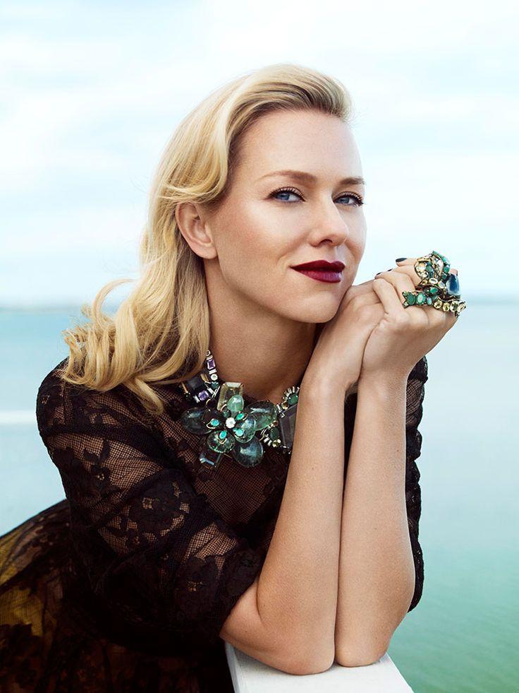 Naomi Watts Makeup Photos