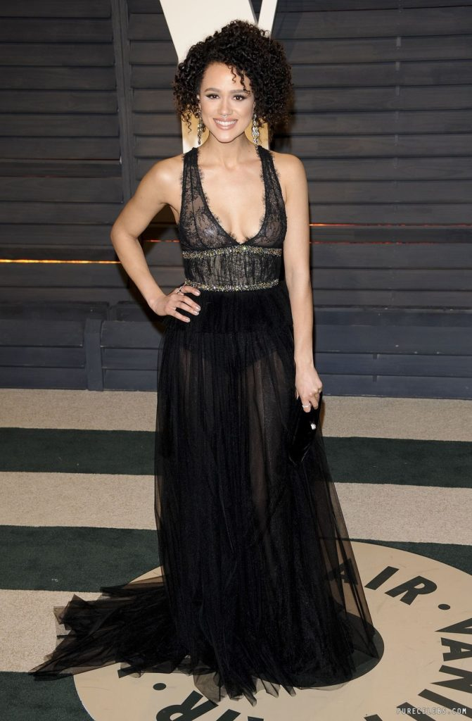 Nathalie Emmanuel In Gown Pictures