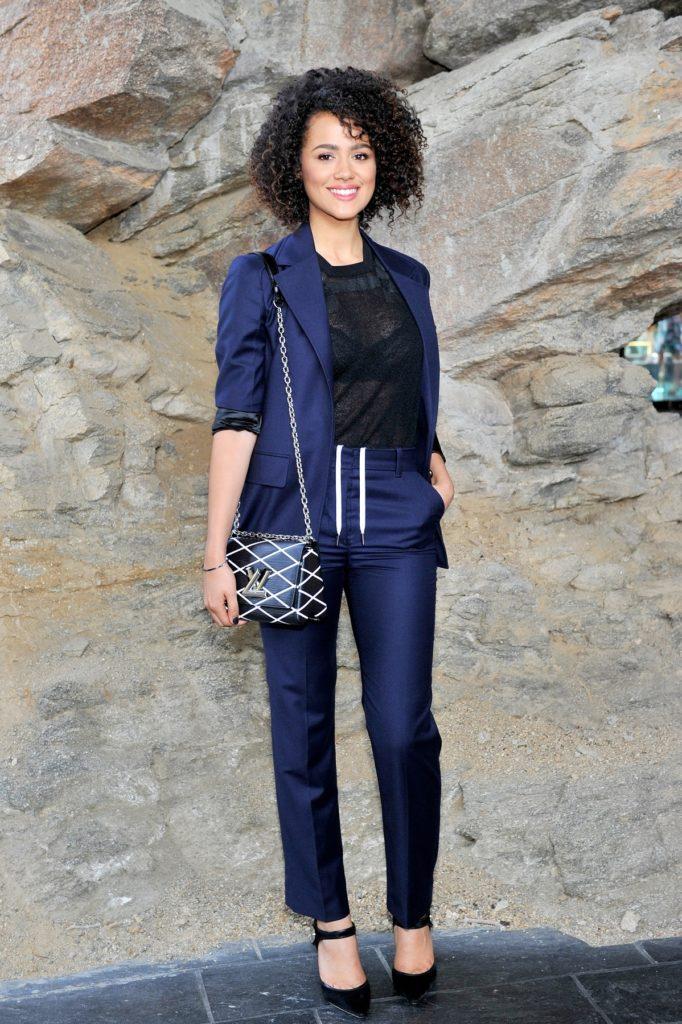 Nathalie Emmanuel In Jeans Photos