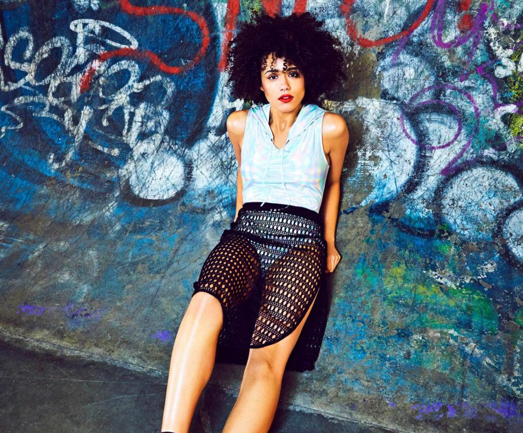 Nathalie Emmanuel In Shorts Pics