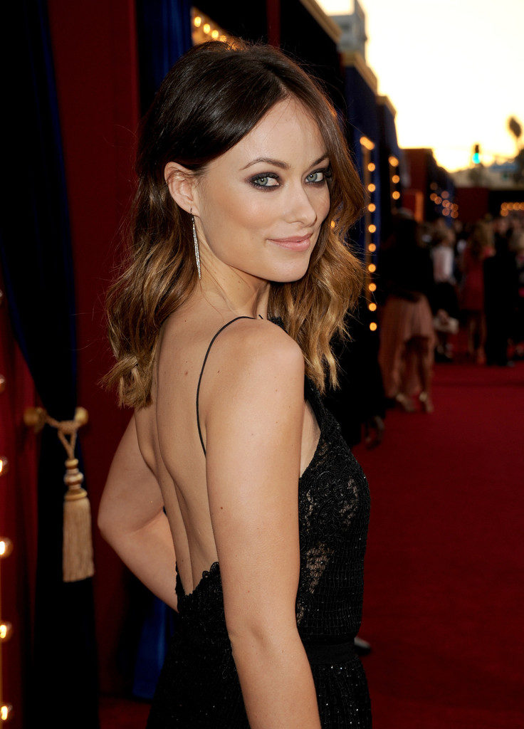 Olivia Wilde Backless Images Gallery
