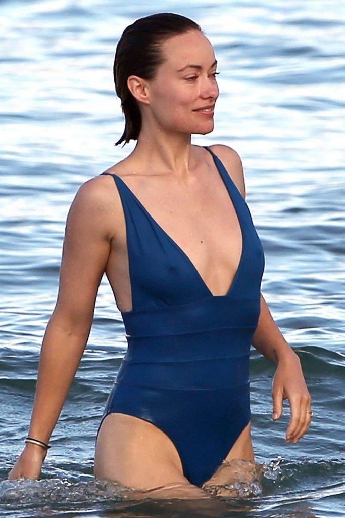 Olivia Wilde Bikini Beach Photos