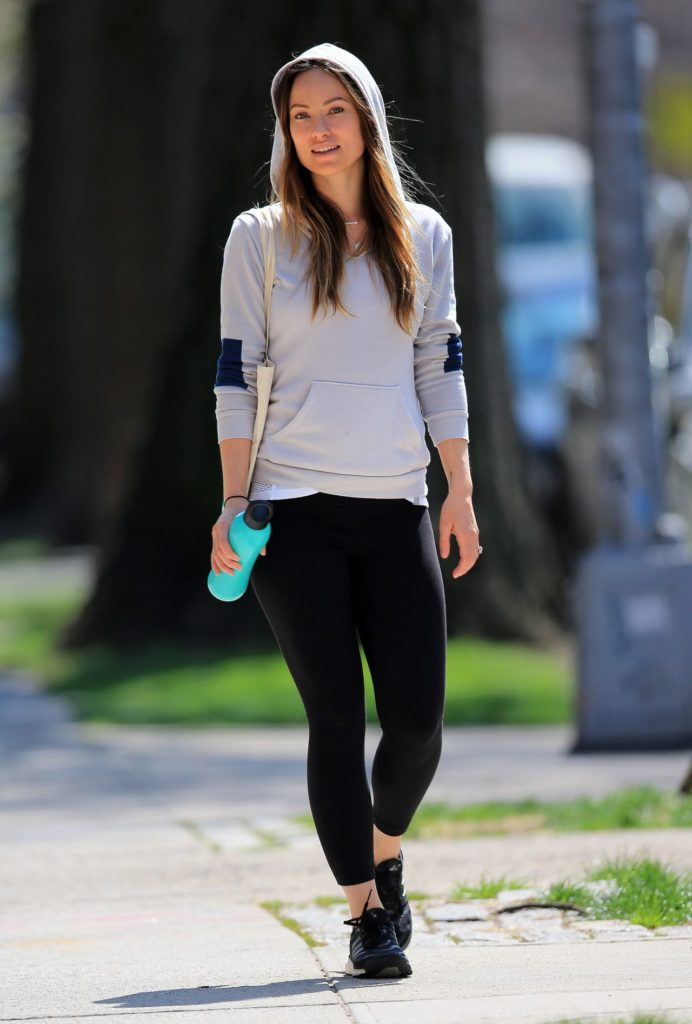 Olivia Wilde Workout Pics