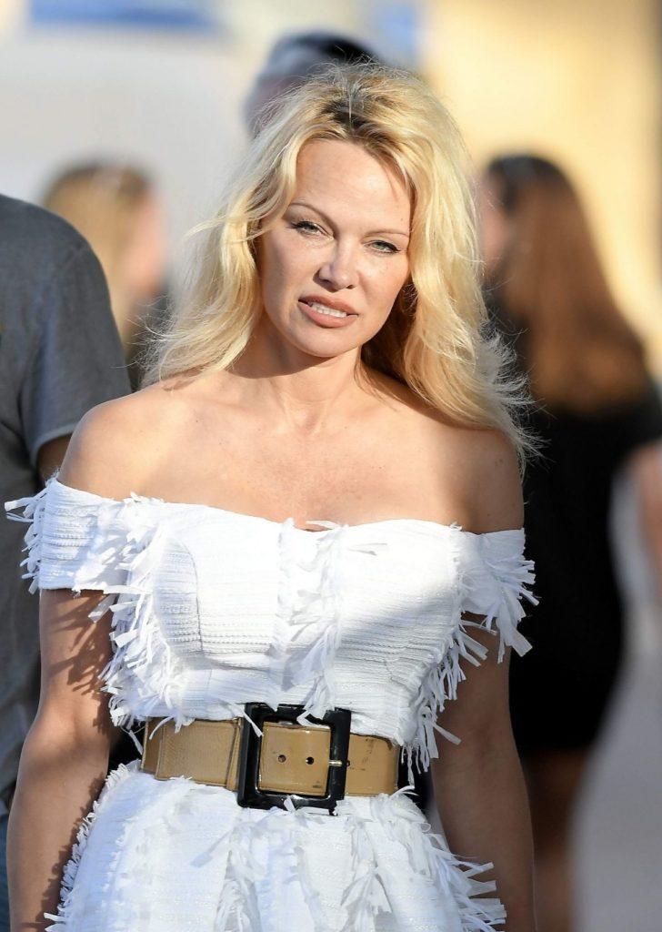 Pamela Anderson At Event Pics