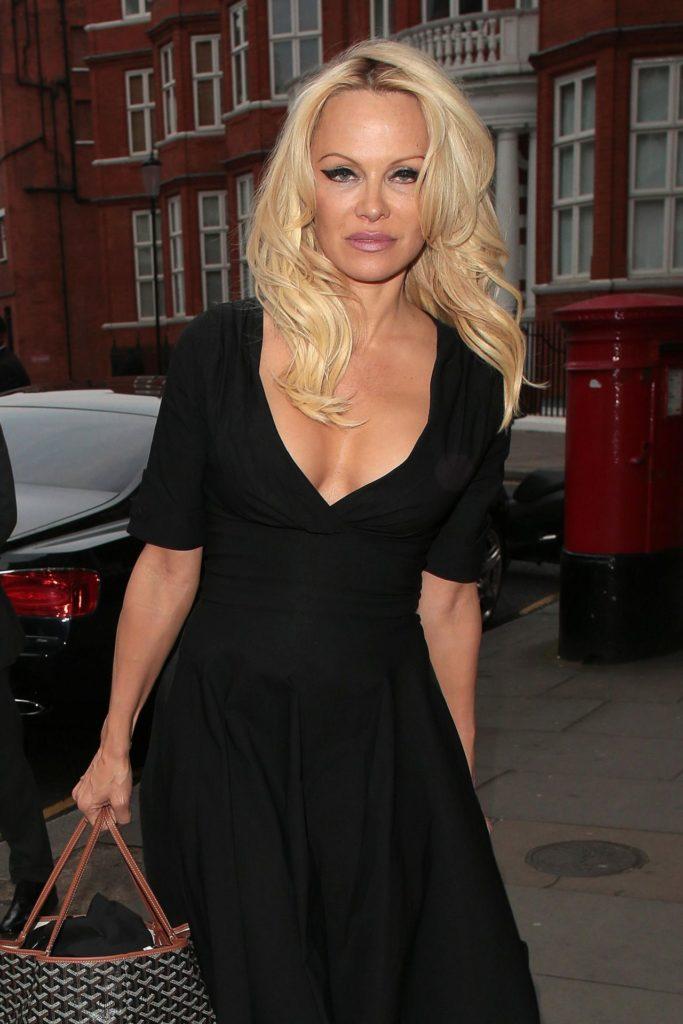 Pamela Anderson At Show Pics