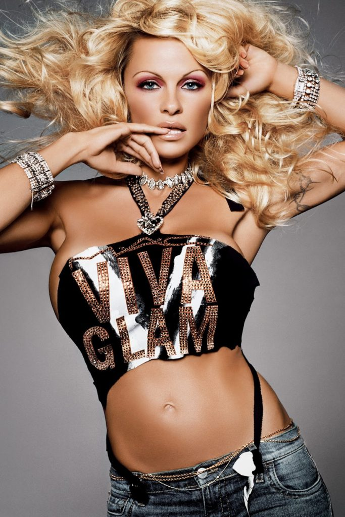 Pamela Anderson Navel Wallpapers