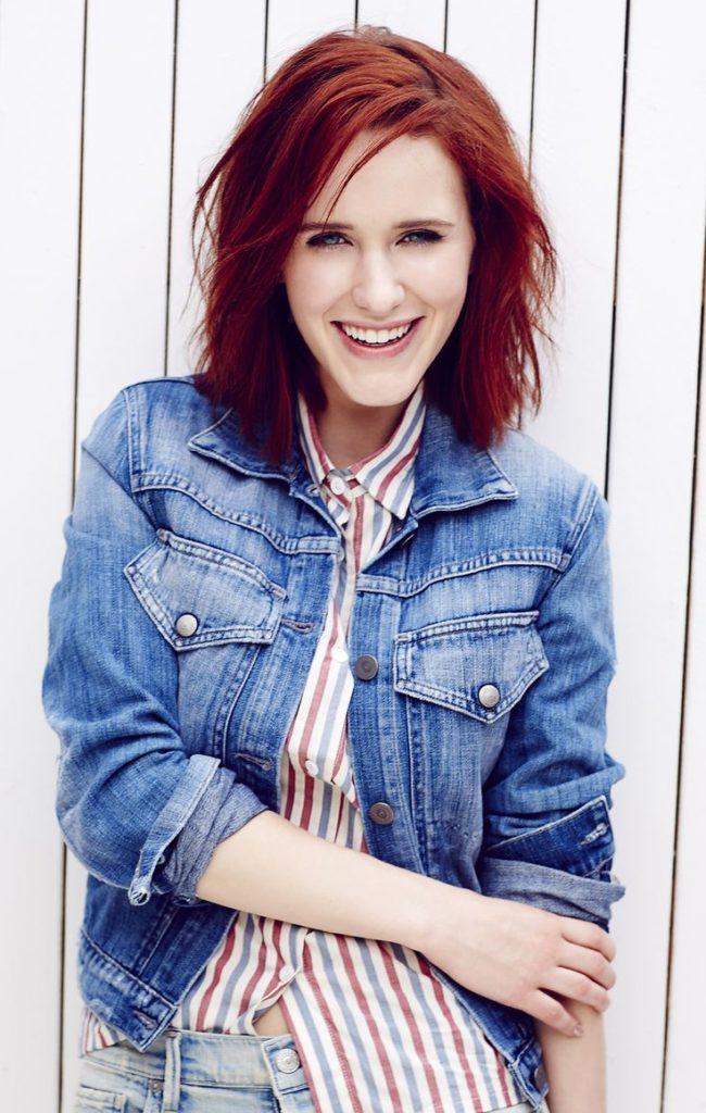 Rachel Brosnahan Cute Smile Wallpapers