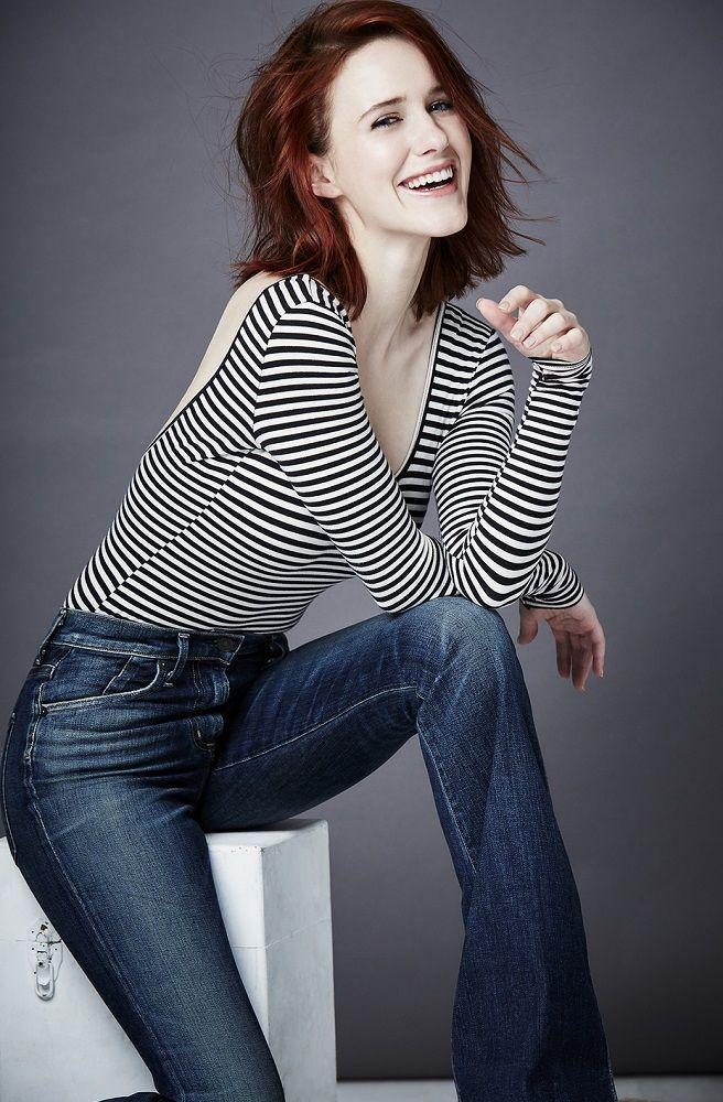 Rachel Brosnahan In Jeans Photoshoot