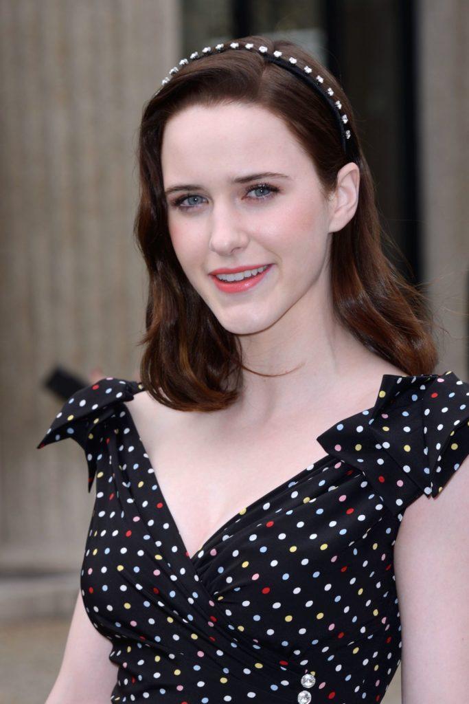 Rachel Brosnahan Short Haircut Pics