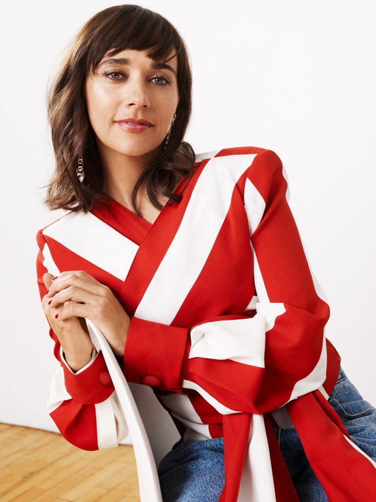 Rashida Jones In Jeans Wallpapers