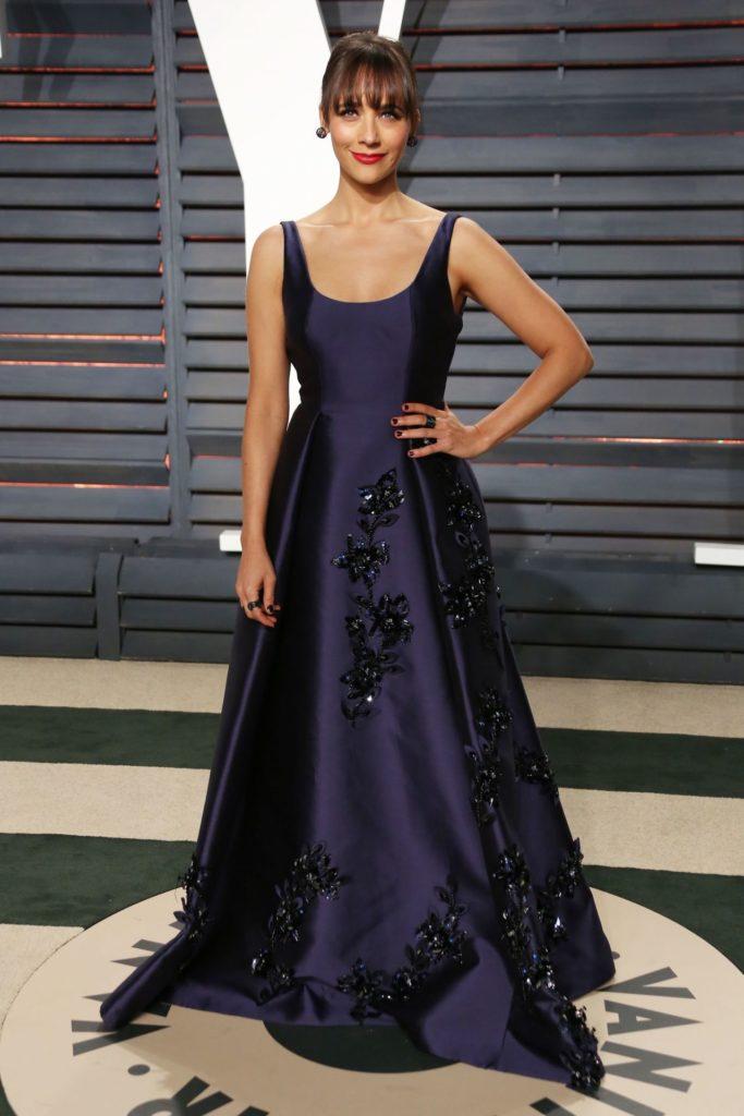 Rashida Jones In Purple Gown Images