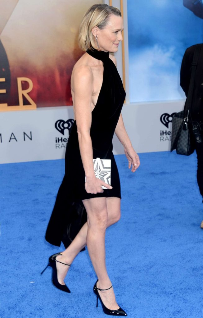 Robin Wright Lingerie Pics At Event