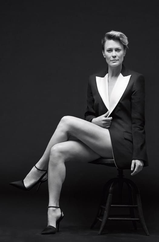 Robin Wright Thighs Wallpapers