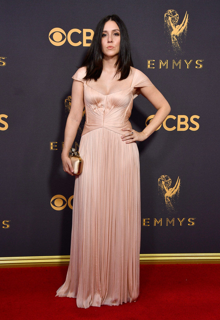 Shannon Woodward In Gown Images