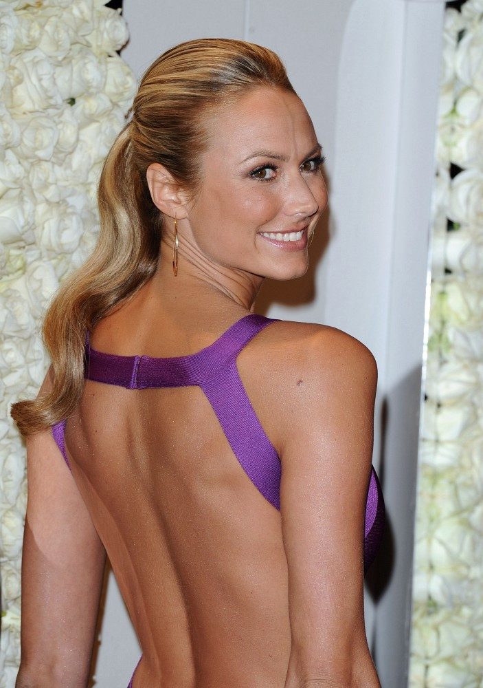 Stacy Keibler Backless Images